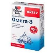 Доппельгерц Актив Омега-3 800 мг. №30 капс._А
