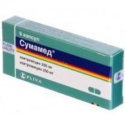 Сумамед® №6 табл.250 мг._А