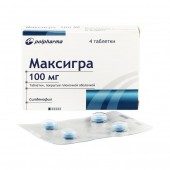 Максигра 100 мг. №4 табл._А