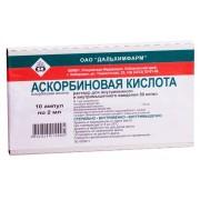 Аскорбиновая кислота Дальхимфарм 5% 2мл 50мг №10_А