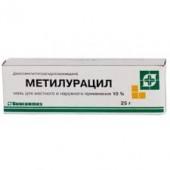 Метилурацил 10% 25 г. мазь в тубе_А