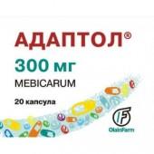 Адаптол 300мг №20 таб