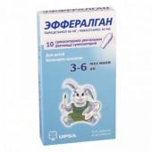 Эффералган 80 мг №10 супп рект с 3 до 6 мес_А