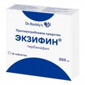 Экзифин® 250 мг. №16 табл._А