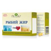 Рыбный жир  без добавок 300 мг 100 капс._А