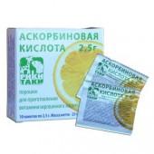 Аскорбиновая кислота 1 г №10 пор.(Кыргызстан)_А