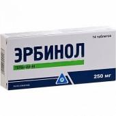 Эрбинол 250 мг №14 табл.