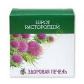 Здоровая печень шрот расторопши 100 г._А