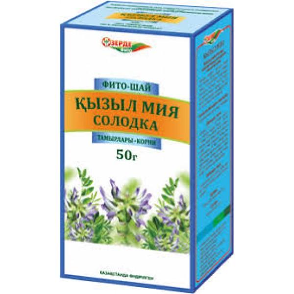 Солодка фито-чай 50 г. Зерде_А