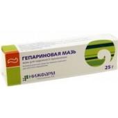 Гепариновая мазь 25 гр_А