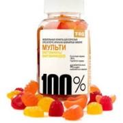 Мультивитамины и минералы с волок.100% №60жев._А
