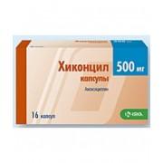 Хиконцил 500 мг. №16 капс._А