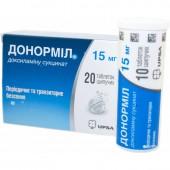 Донормил 15 мг №20 табл.шип./UPSA_А