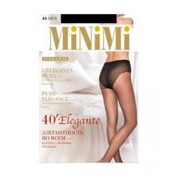 Колготки женские Mini ELEGANTE Nero 4_А