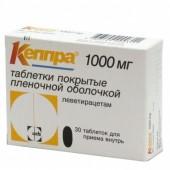 Кеппра 1000мг №30 табл_А