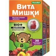 ВитаМишки BIO+ №30 пастилки жев._А
