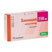 Хиконцил 250 мг. №16 капс._А