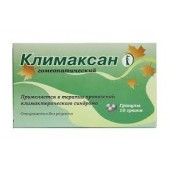 Климаксан 10 г. гран._А
